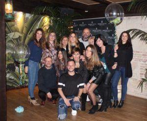 Celebración de cumpleaños Córdoba-Grupo con Inda