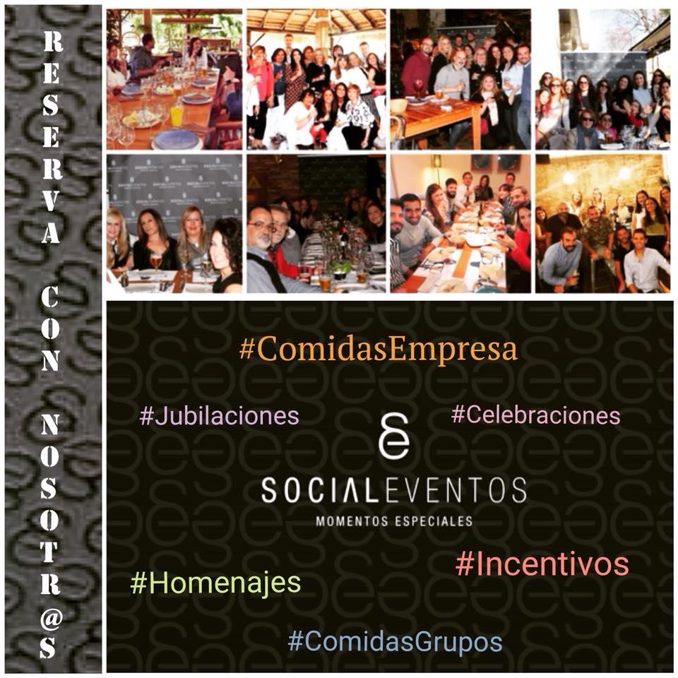 Comidas de empresa con Social Eventos