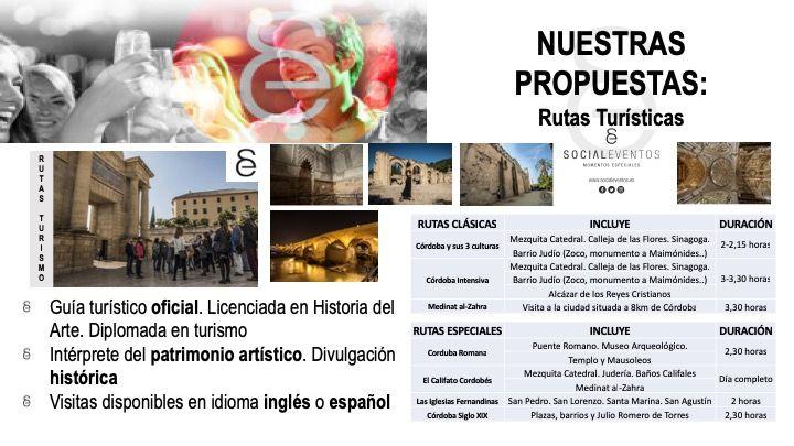 Rutas turísticas Social Eventos